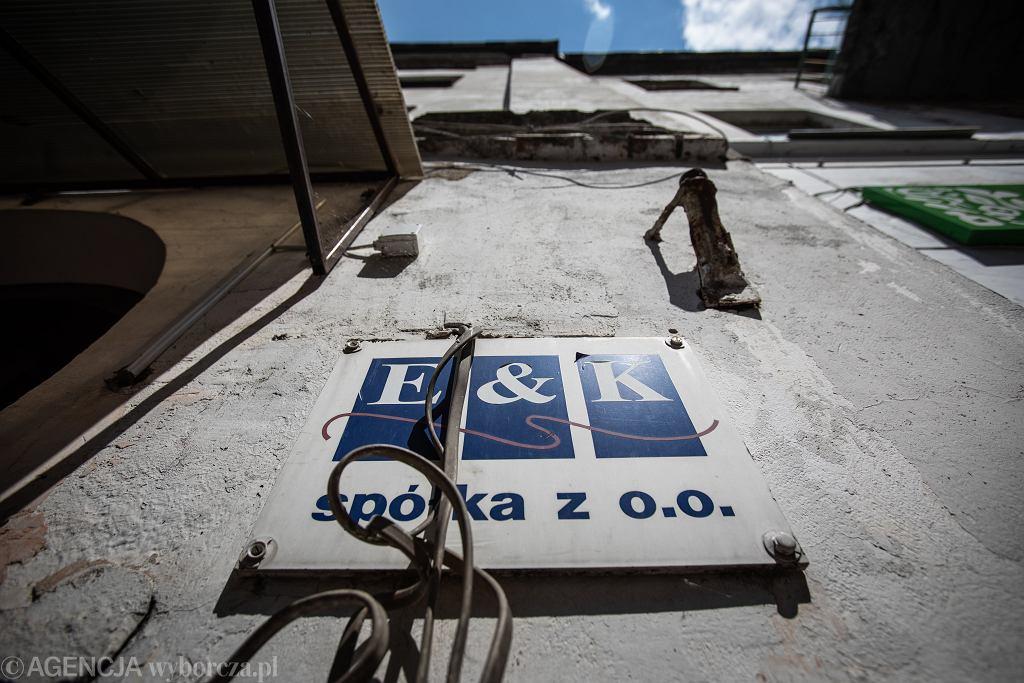 17.06.2020 Lublin, ul. Radziwiłłowska 5. Siedziba firmy E&K, od której rząd PiS kupił respiratory