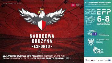 Narodowa Drużyna Esportu zorganizuje turniej CS:GO.