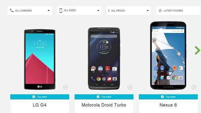 Google podpowie, jaki smartfon jest dla ciebie idealny