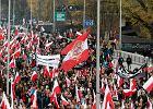 11 Listopada. Ulice zablokuje rekordowa liczba marszów. Sprawdź utrudnienia [MAPA]