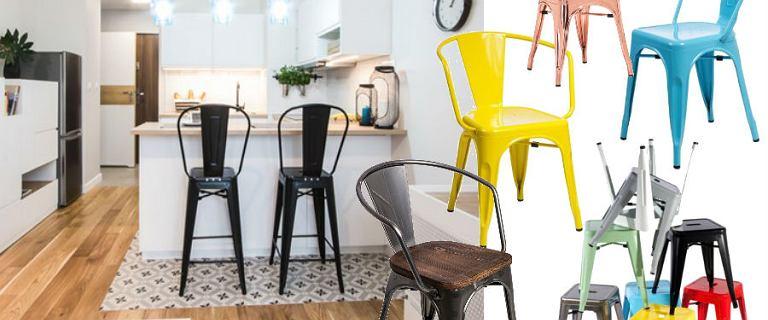 Krzesła inspirowane projektem Tolix'a - trend