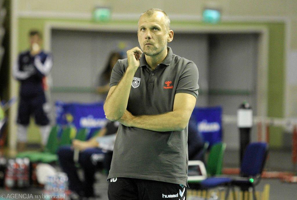 Trener Dariusz Daszkiewicz