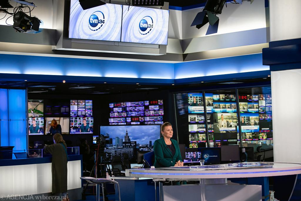 Studio TVN24 i siedziba stacji TVN