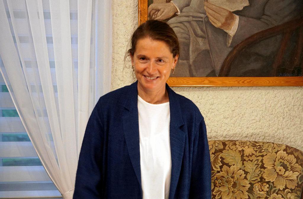 Saj 2018 r. Spotkanie z Moniką Jaruzelską w Domu Broniewskiego w Płocku