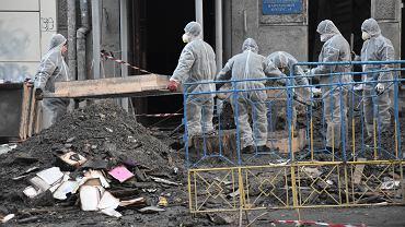 Ukraina. Tragiczny bilans pożaru w szkole w Odessie. Nie żyje 16 osób