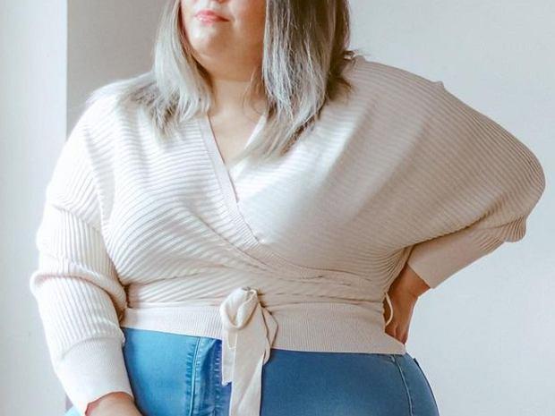 wyszczuplające bluzki plus size