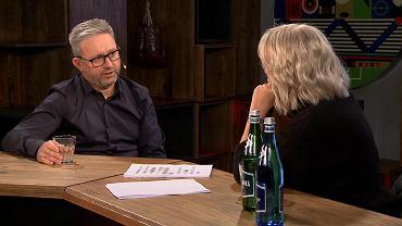 Jerzy Brzęczek i Małgorzata Domagalik