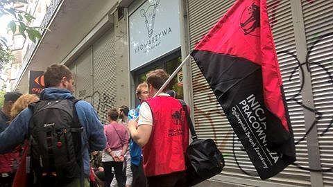 Protest Krowarzywa