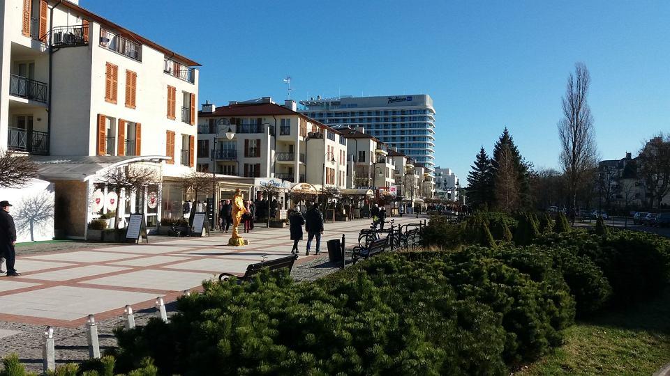 Nowa promenada i hotel Radisson w Świnoujściu