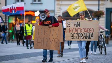 Happening na Starym Rynku w obronie praw uchodźców