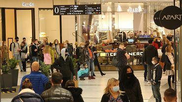 Centrum handlowe, zdjęcie ilustracyjne.