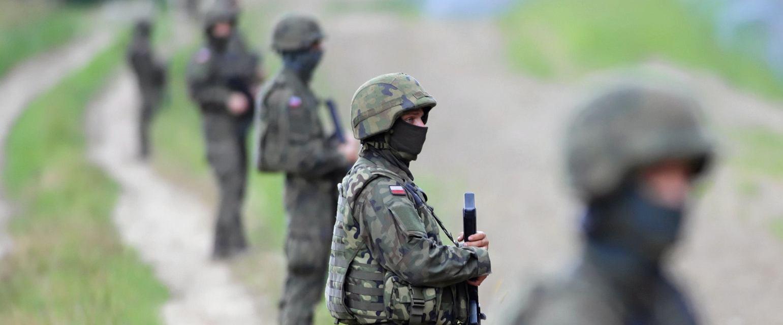 Granica z Białorusią w Kopczanach (Grzegorz Dąbrowski / Agencja Gazeta)