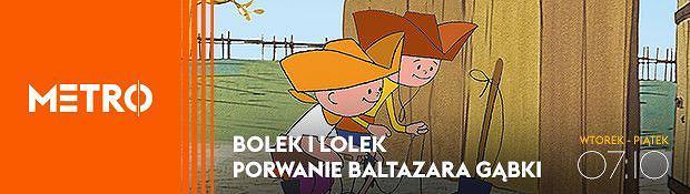 Bolek i Lolek oraz Porwanie Baltazara Gąbki - premiera 21 lutego od godz. 7:10