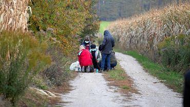 Uchodźcy na granicy polsko - białoruskiej