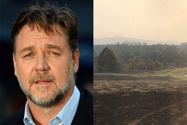 Russell Crowe podzielił się z fanami widokiem swojej posiadłości, którą dotknęły pożary w Australii. Jeszcze 10 tygodni temu szalał tam ogień. Niedawno jednak przyszły deszcze i cała sceneria odmieniła się jak za dotknięciem różdżki.