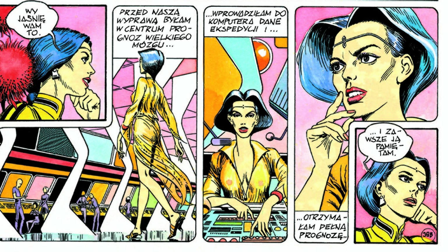 Plansza z komiksu