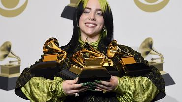 GRAMMY 2020 - Billie Eilish triumfuje