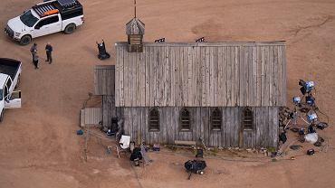 Ranczo Bonanza Creek w Santa Fe w Nowym Meksyku gdzie wydarzył się wypadek na planie filmowym.