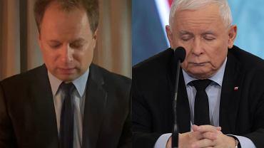 """Maciej Stuhr parodiuje Jarosława Kaczyńskiego. Nawiązał do drzemki. """"Czas już na mnie"""". Prezes PiS nie będzie zadowolony"""