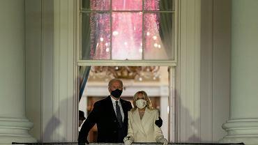 Joe Biden z małżonką