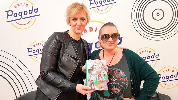 Anna Stachowska i współautorka książki 'Villas' Iza Michalewicz w Radiu pogoda