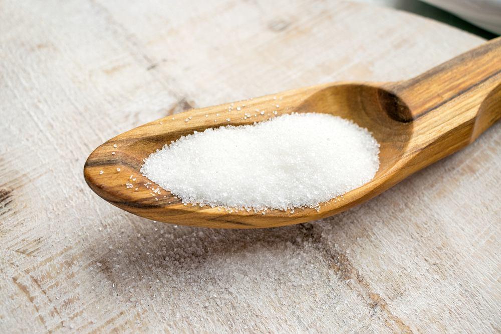 Sorbitol to powszechnie stosowana substancja słodząca, jest znacznie mniej kaloryczny niż biały cukier