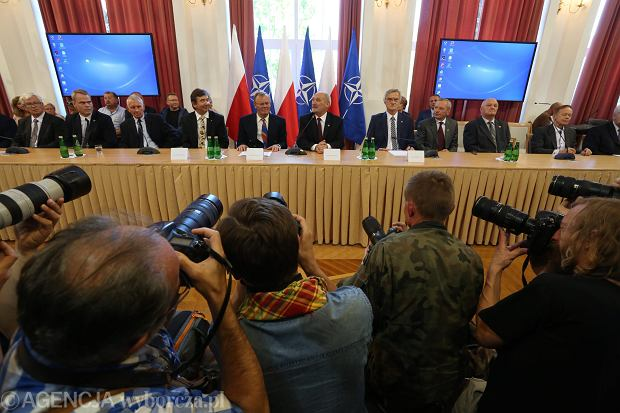 Konferencja prasowa przedstawicieli podkomisji, 15.09.2016 r.