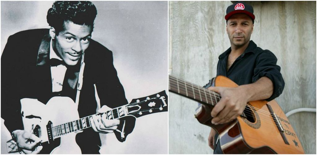 Chuck Berry i Tom Morello