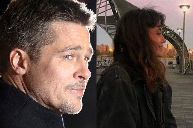 Ella Purnell, Brad Pitt