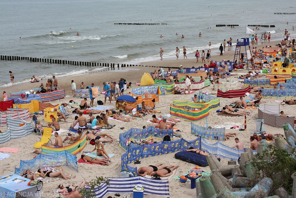 Mielno, plaża