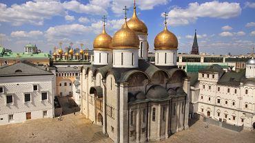 Kreml. Moskwa Rosja - Sobór Uspieński