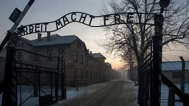 Brama nazistowskiego obozu zagłady Auschwitz
