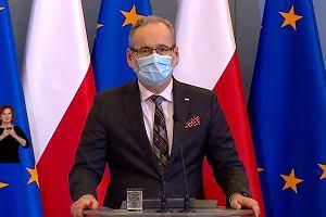 """Konferencja ministra zdrowia. """"Idziemy w kierunku ograniczenia ruchu na południowej granicy"""""""