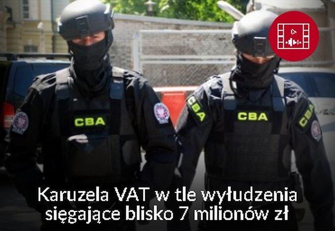 CBA zatrzymało cztery osoby podejrzane o wyłudzenia VAT