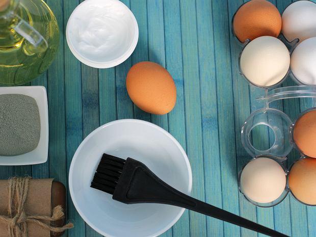 Домашние способы сильные волосы - маска из яйца