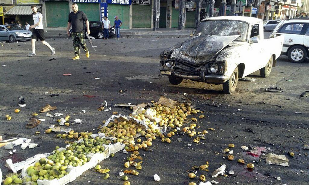 Syria: 183 ofiary zamachów bombowych w rejonie miasta Suweida