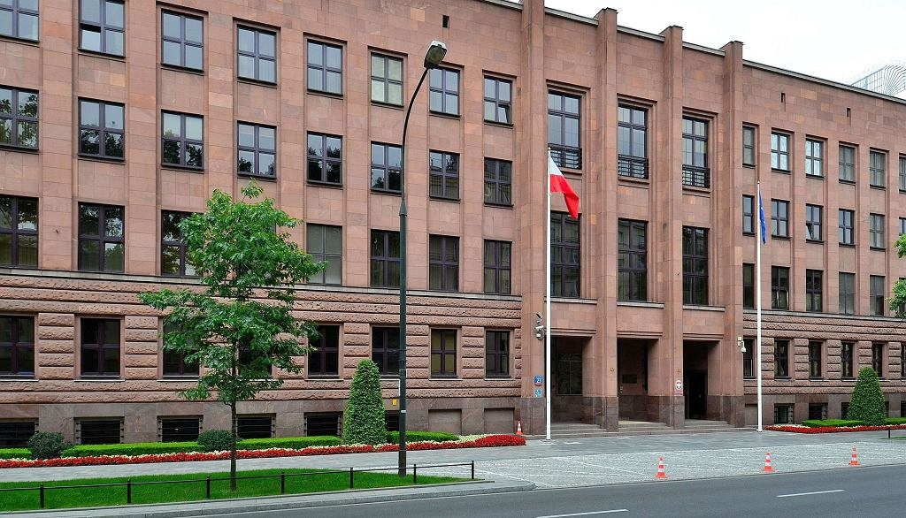 Ministerstwo Spraw Zagranicznych. Zdjęcie ilustracyjne