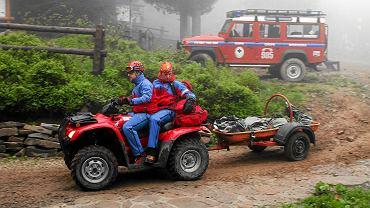 Tragedia w Beskidach. Nie żyje 72-latek poszukiwany przez GOPR (zdj. ilustracyjne)