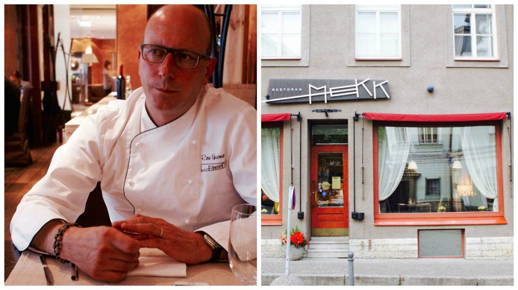 Rene Uusmees, restoran Mekk, Tallin