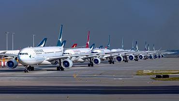 Władze wykupią pół miliona biletów lotniczych, żeby pomóc liniom