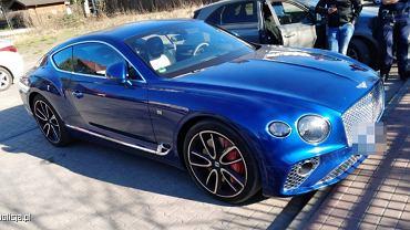 Bentley warty 1,5 miliona zł zniknął na 3 godziny
