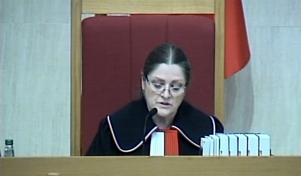 Krystyna Pawłowicz w TK