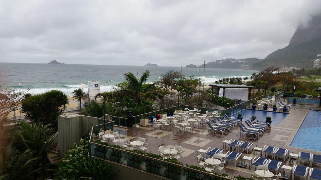 Deszczowe Rio de Janeiro