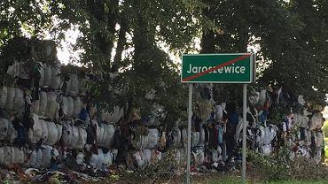 Śmieci w Bełżycach w woj. lubelskim