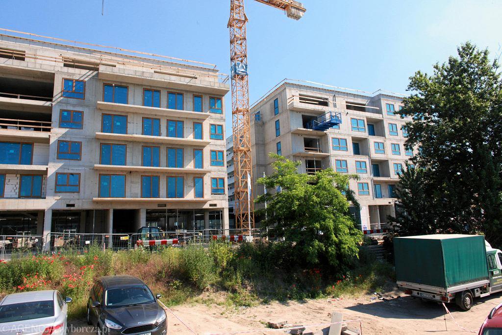 Budowa nowych mieszkań we Wrocławiu - Kępa Mieszczańska