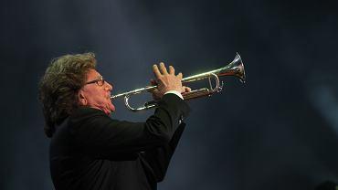 Zbigniew Wodecki podczas koncertu Nadziei. Wrocław, 25 kwietnia 2017