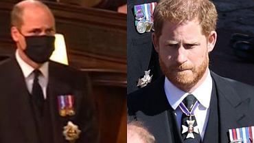Książę William zmroził wzrokiem księcia Harry'ego na pogrzebie. Ekspertka od mowy ciała przeanalizowała ich zachowanie