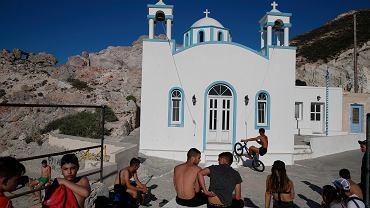 Virus Outbreak Greece Tourism