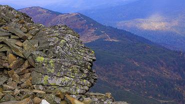 Polskie góry na jesień: Beskid Żywiecki. Widok z Babiej Góry w połowie listopada / Flickr.com Poland MFA CC BY-ND