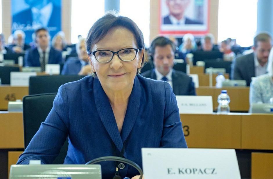 Ewa Kopacz została wybrana na wiceprzewodniczącą Parlamentu Europejskiego